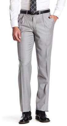 Santorelli Pleated Wool Classic Fit Trouser $195 thestylecure.com