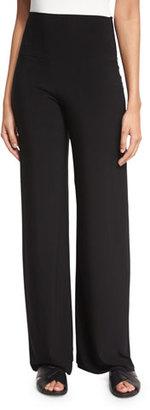 Norma Kamali Go High-Waist Stretch Pants, Black $125 thestylecure.com