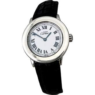 Cartier Vintage Must Vendome White Silver Watches