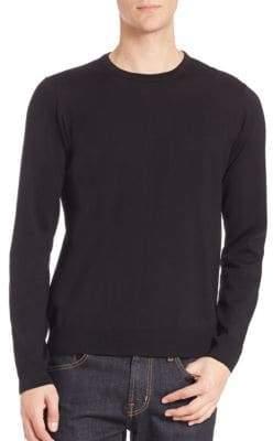 Saks Fifth Avenue Long Sleeve Merino Wool Sweater