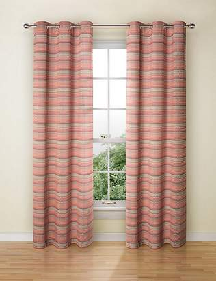 Marks and Spencer Geo Chenille Curtains
