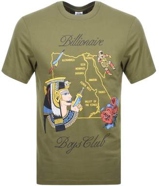 Billionaire Boys Club Souvenir Map T Shirt Green