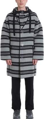 Lanvin Grey Wool Coat