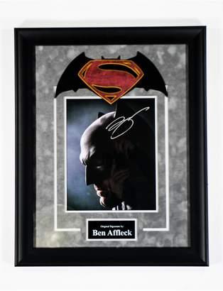 Victoria's Secret FAIRCHILD PARIS Batman Superman Ben Affleck Signed Movie Photo