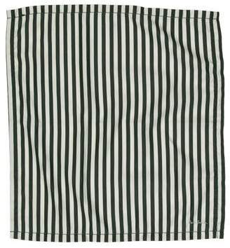 Paul Smith Striped Woven Pocket Square