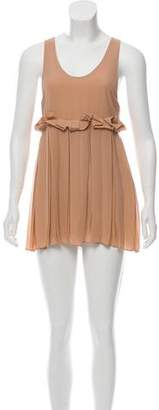 See by Chloe Pleated A-Line Dress