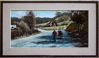 One Kings Lane Vintage Days End - Bonny Doon by Fred Colbus