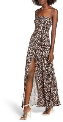 AFRM Aryn Lattice Detail Dress
