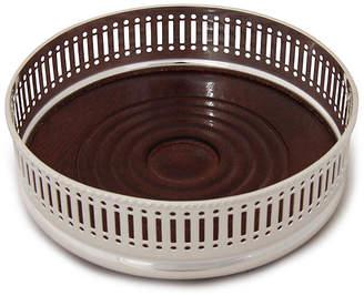 Corbell Silver Company Inc. Silver-Plated Wine Coaster - Pierced