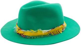 Zadig & Voltaire Green Wool Hats