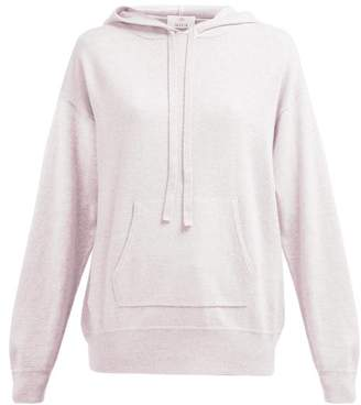 Allude Wool Blend Hooded Sweater - Womens - Light Pink