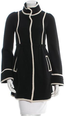 Alice + OliviaAlice + Olivia Wool Short Coat