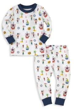 Kissy Kissy Baby Boy's& Little Boy's Two-Piece Buccaneers Pajama Top and Bottom Set