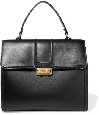 Lanvin - Jiji Medium Leather Tote - Black $2,350 thestylecure.com