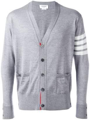Thom Browne stripe sleeve cardigan