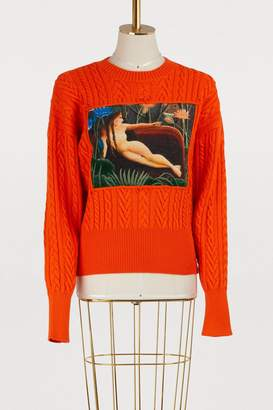 Kenzo Wool turtleneck sweater
