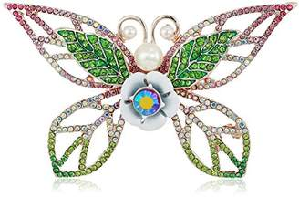Betsey Johnson Colorful Tonal Butterfly Brooaches and Pins