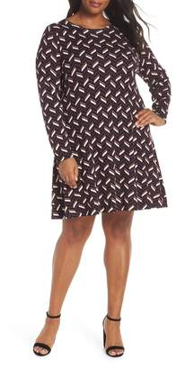 MICHAEL Michael Kors Chevron Sweater Dress