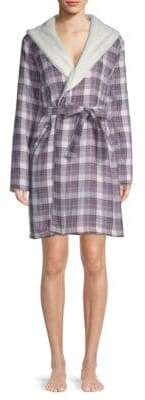UGG W Anika Plaid Cotton Robe