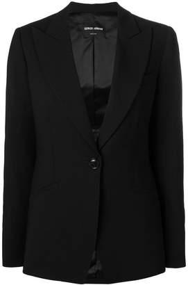 Giorgio Armani single breasted blazer