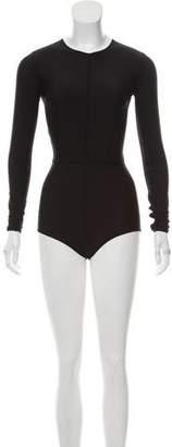 Ann Demeulemeester Long Sleeve Nano Bodysuit w/ Tags