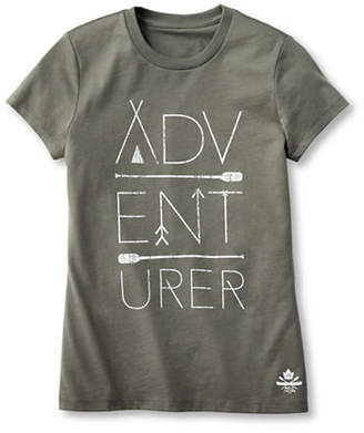 HBC GRAND PORTAGE Adventurer Printed T-Shirt - Girls