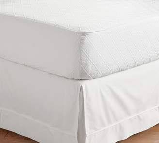 Pottery Barn Reeve Matelasse Organic Daybed Mattress Cover