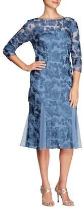 Alex Evenings Lace Midi Dress