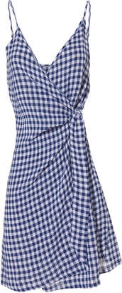 Rails Malia Gingham Wrap Dress