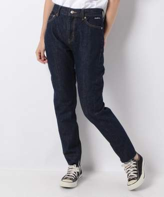X-girl (エックス ガール) - X-girl SLIM CROPPED DENIM PANTS