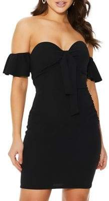 Quiz Knotted Bodycon Dress