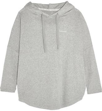 Calvin Klein Underwear - Cotton-blend Hooded Sweatshirt - Stone $90 thestylecure.com