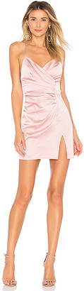 superdown Kimora Satin Pleated Dress