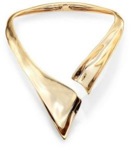 Alexis Bittar Liquid Hinged Collar Necklace $395 thestylecure.com