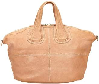 Givenchy Nightingale Brown Leather Handbags
