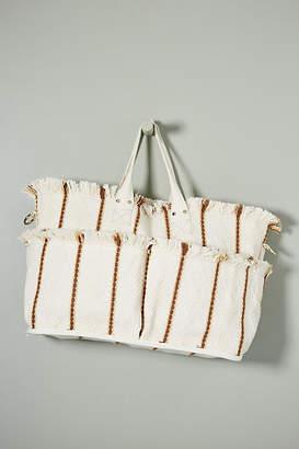 Binetti Diego Uma Printed Canvas Tote Bag