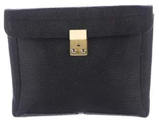 3.1 Phillip Lim Leather Pashli Clutch