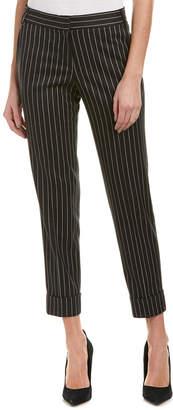James Jeans Black Stripe Ankle Trouser