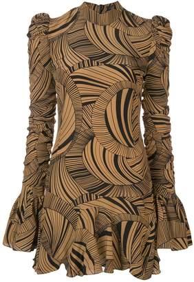 DAY Birger et Mikkelsen De La Vali geometric short dress