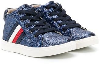Tommy Hilfiger Junior stripe sneakers
