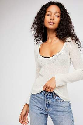 Crystal Clear Cashmere Sweater