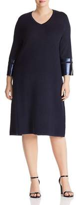 Marina Rinaldi Gallia Ribbed Dress
