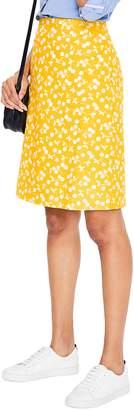 Boden Print Cotton Skirt