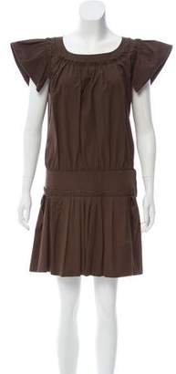 Marc Jacobs Cap Sleeve Mini Dress