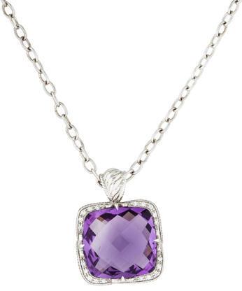 CharriolCharriol Amethyst & Diamond Pendant Necklace