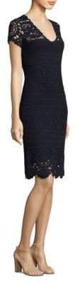 Elie Tahari Esme Cotton Sweater Dress