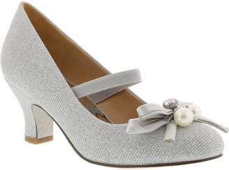 Badgley Mischka Milah Embellished Bow Pump