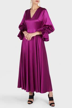 Roksanda Lavonne Fuschia Dress