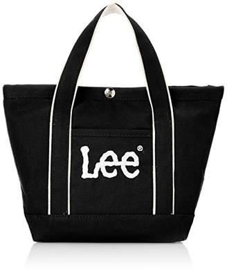 Lee (リー) - [リー] トートバッグ ミニ 厚手コットンキャンバス(帆布) Leeビッグロゴ刺繍 ブラック