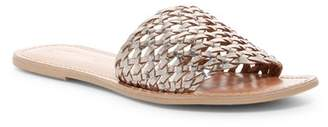 Rebels Bettina Leather Lattice Slide Sandal
